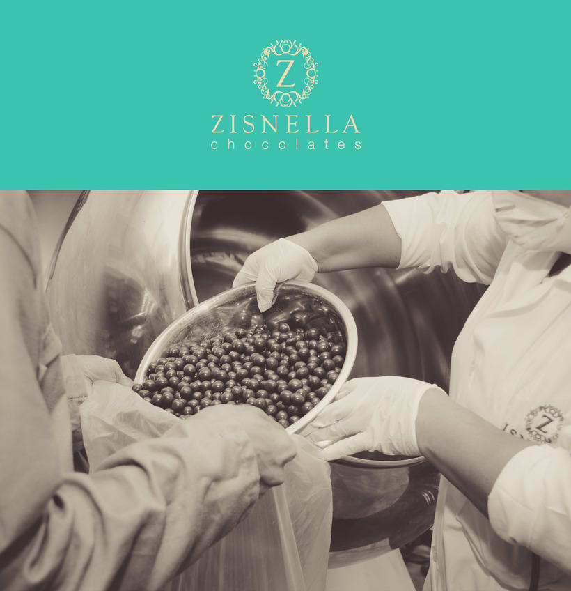 Zisnella Chocolates Packaging 1