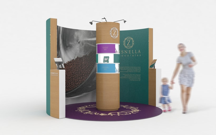 Zisnella Chocolates Stand 0