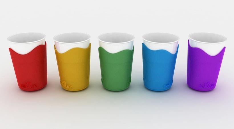 SiliLife Vasos de silicona -1