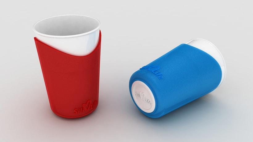 SiliLife Vasos de silicona 0