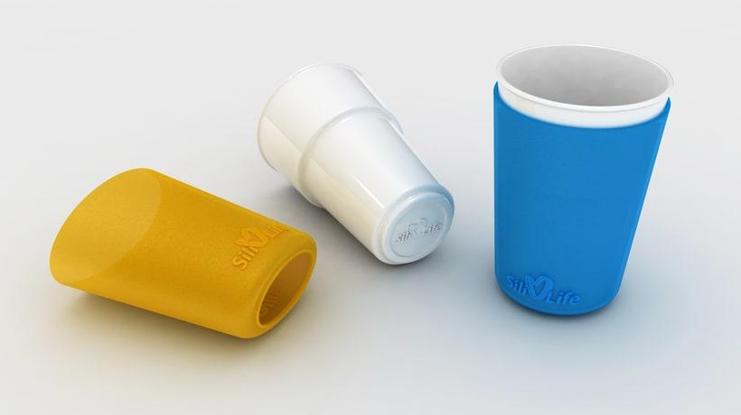 SiliLife Vasos de silicona 1