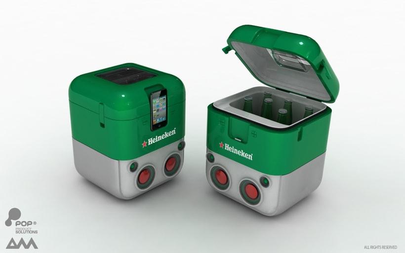 Boombox Cooler -1