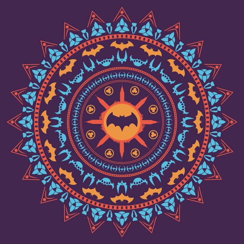 Grafísmo para camiseta. Batdala -1