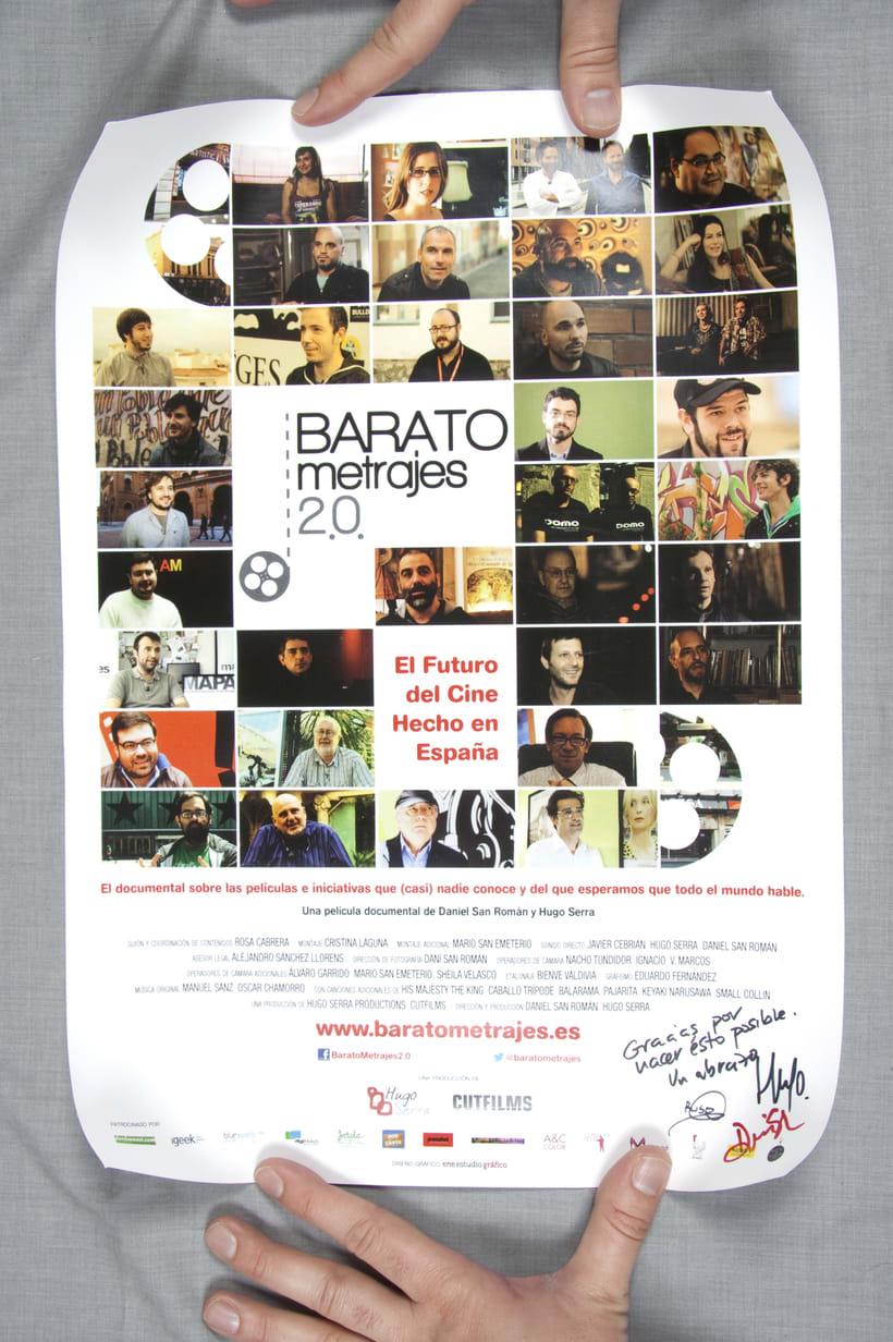 "Gráfica del documental ""Baratometrajes 2.0"" -1"