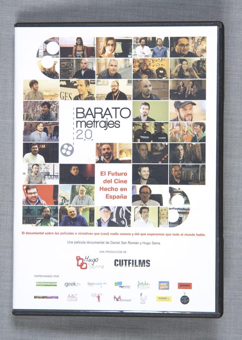 "Gráfica del documental ""Baratometrajes 2.0"" 0"