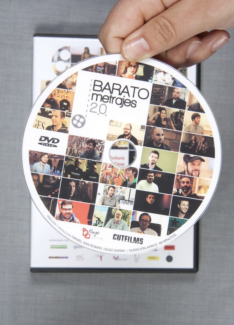 "Gráfica del documental ""Baratometrajes 2.0"" 1"
