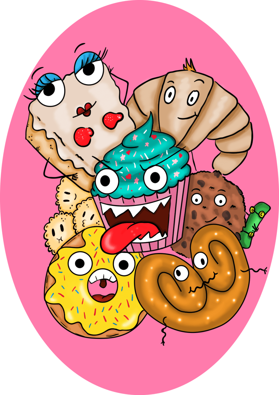 Dulces animados -1