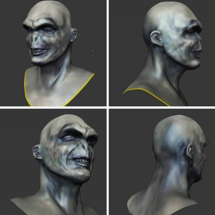 Voldemort 3D 0