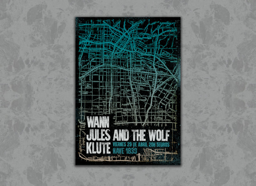 Wann +  Jules & The Wolf + Klute -1