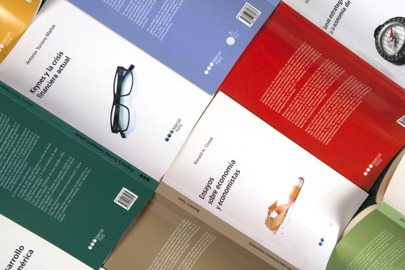 """Diseño de portadas de la """"Colección Economía"""" 1"""