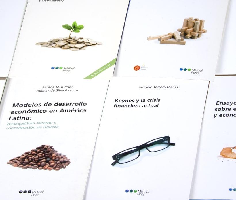 """Diseño de portadas de la """"Colección Economía"""" 3"""