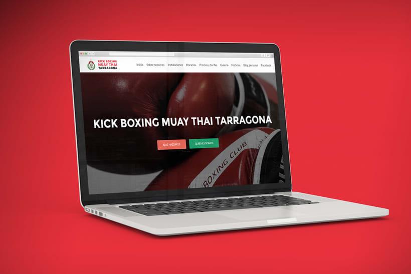 Kickboxing I Muay Thai Tarragona - Brand refresh 4