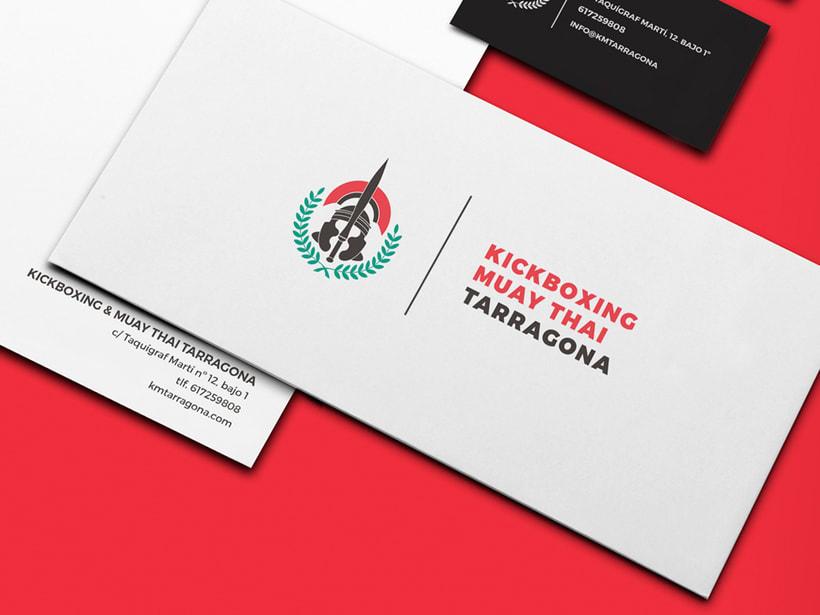 Kickboxing I Muay Thai Tarragona - Brand refresh 1