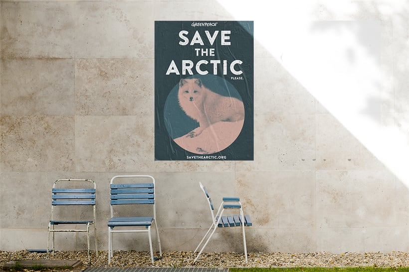 Save the Arctic - Greenpeace poster -1