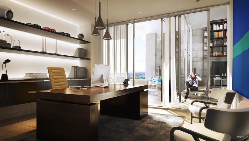 3d Visualización Arquitectónica - Interiores 0