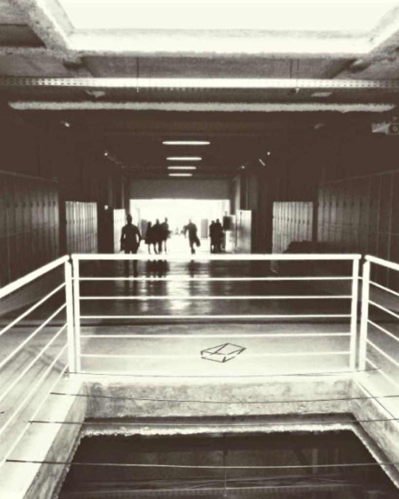 Blanco y negro. Fotografía móvil. 0