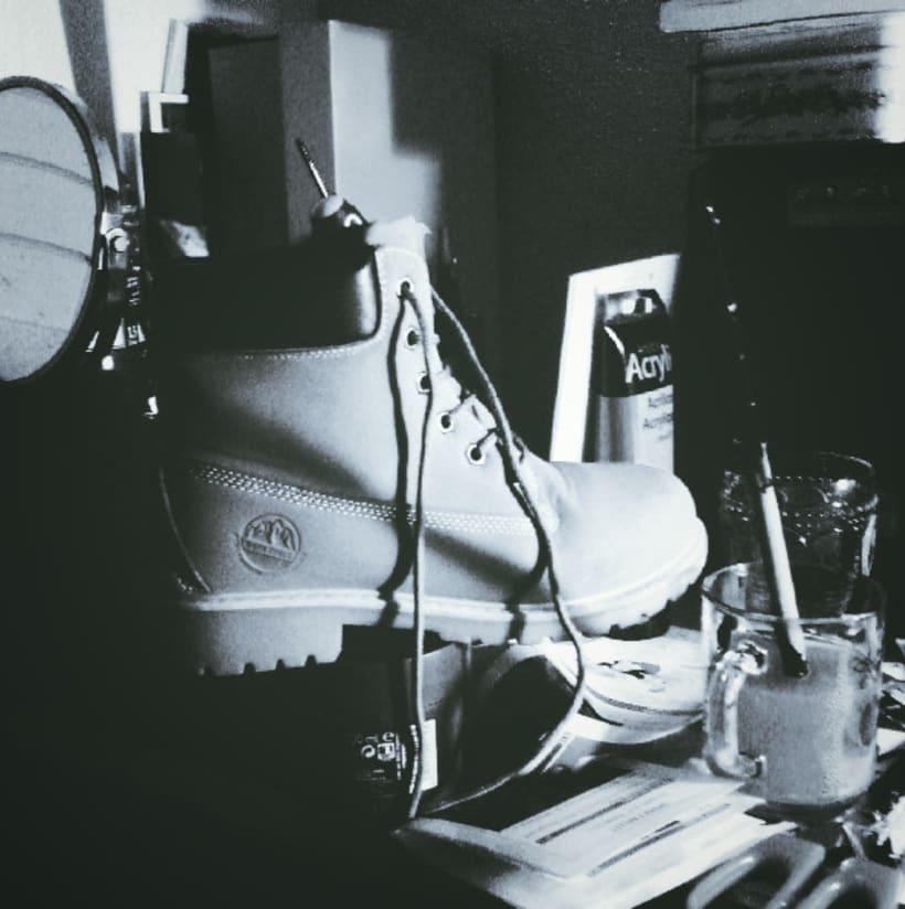 Blanco y negro. Fotografía móvil. 2