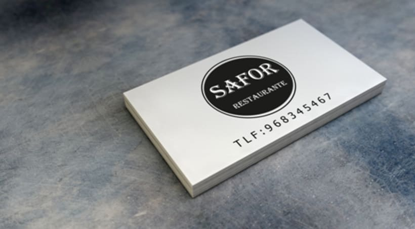 Logo Corporativo Restaurante Safor -1