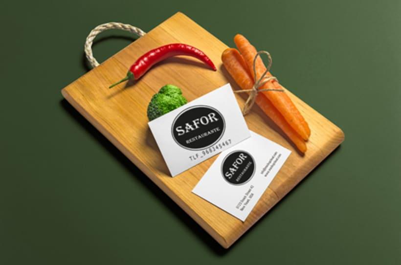Logo Corporativo Restaurante Safor 0