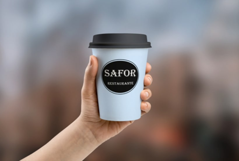 Logo Corporativo Restaurante Safor 2