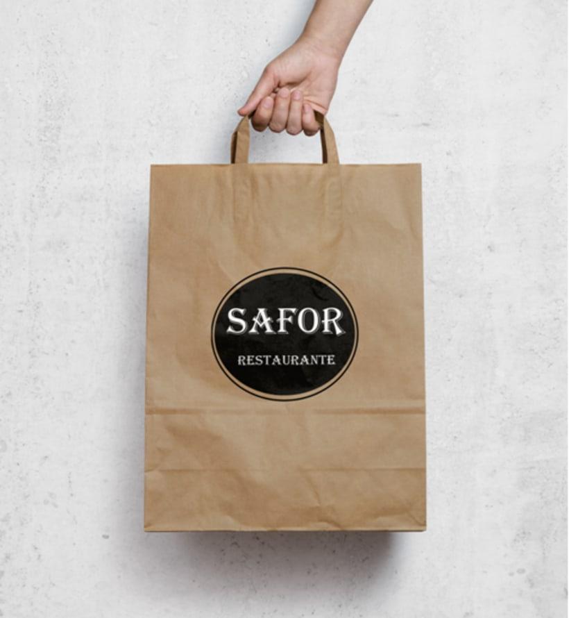 Logo Corporativo Restaurante Safor 3