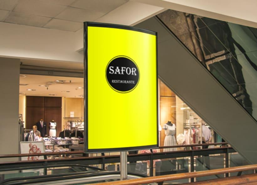 Logo Corporativo Restaurante Safor 7