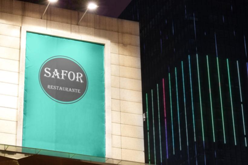 Logo Corporativo Restaurante Safor 8