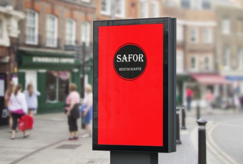 Logo Corporativo Restaurante Safor 9