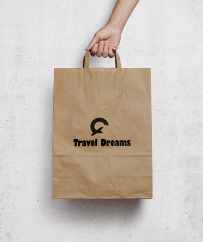 Logo Corporativo Travel Dreams 8