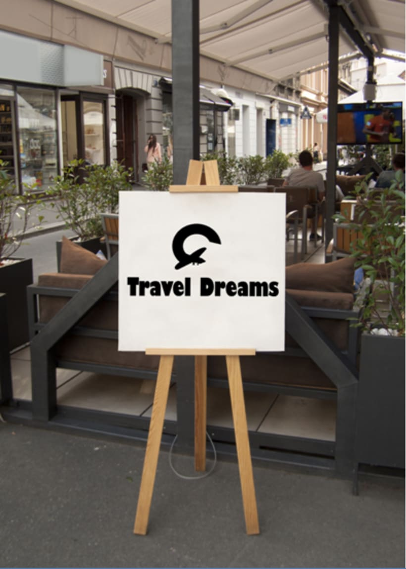 Logo Corporativo Travel Dreams 9