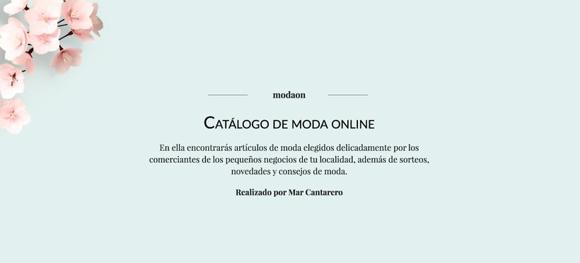 Nuevo proyectoModaon - Tu catálogo online 1