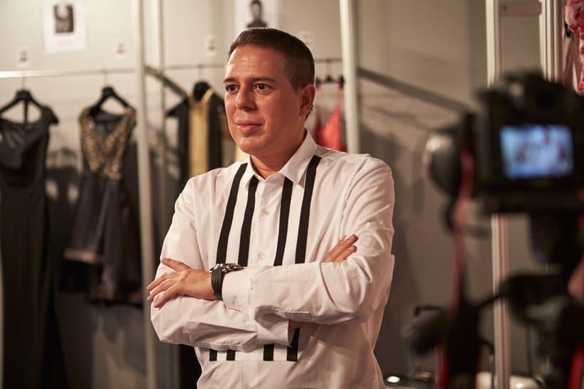 Entrevista a Hannibal Laguna en la Mercedes Fashion Week Madrid 2016 0