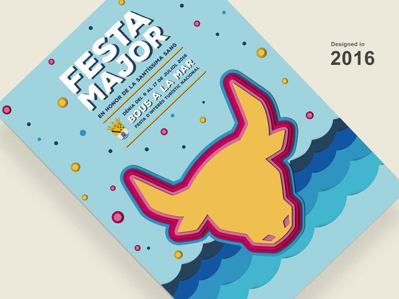 Propuesta cartel Fiestas de Denia 2
