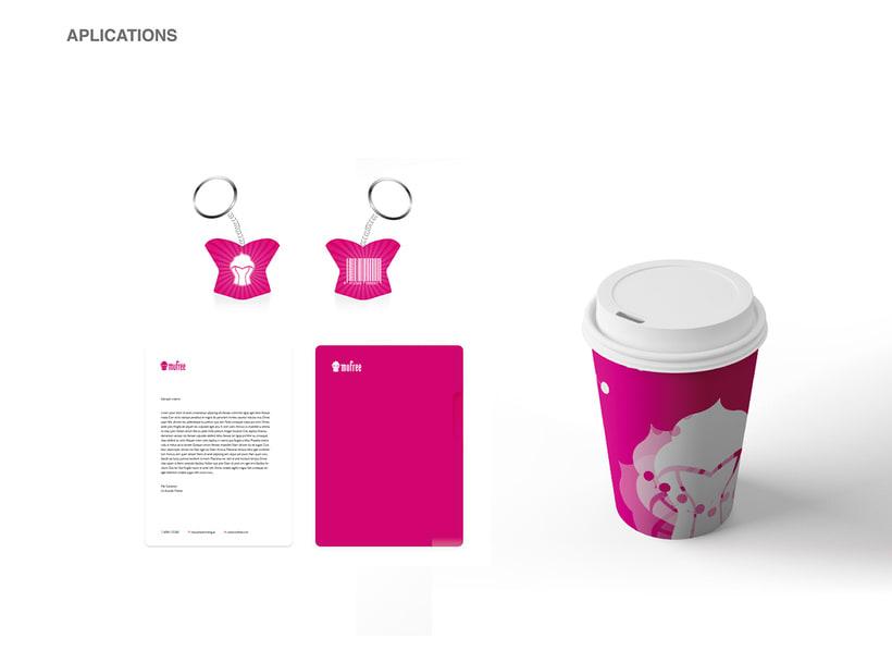 Branding and tipography - Mufree 7