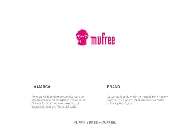 Branding and tipography - Mufree 0
