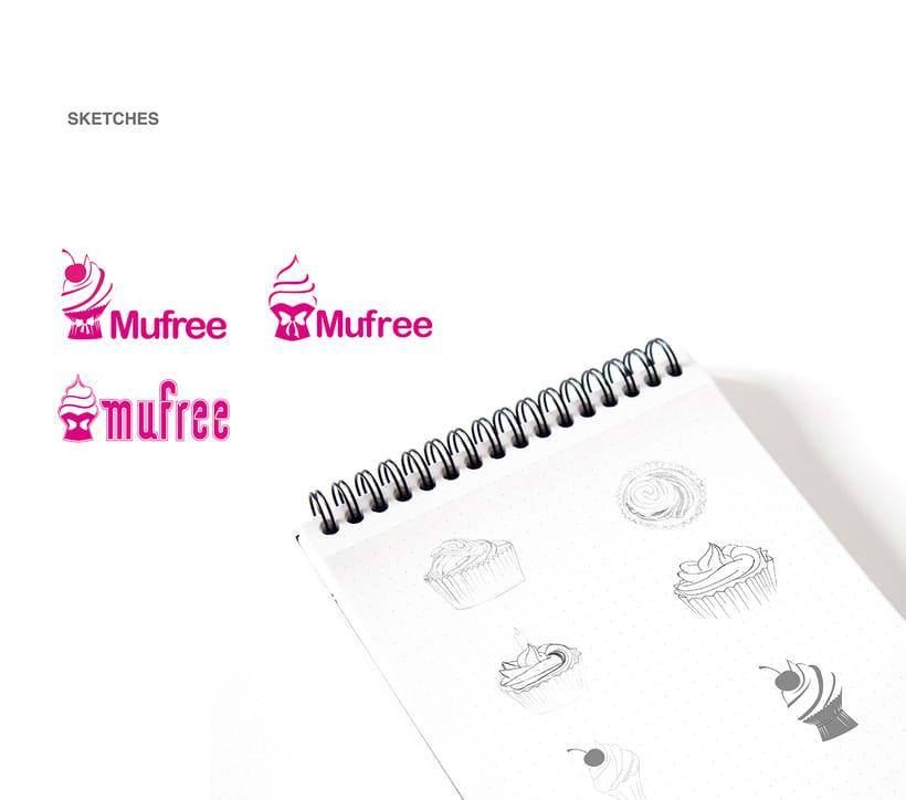 Branding and tipography - Mufree 5