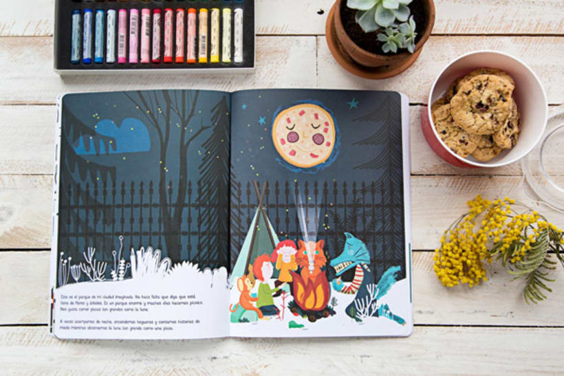 Mi ciudad imaginada, cuento y libro de creatividad libre para niños 1