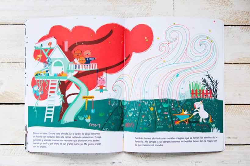 Mi ciudad imaginada, cuento y libro de creatividad libre para niños 2