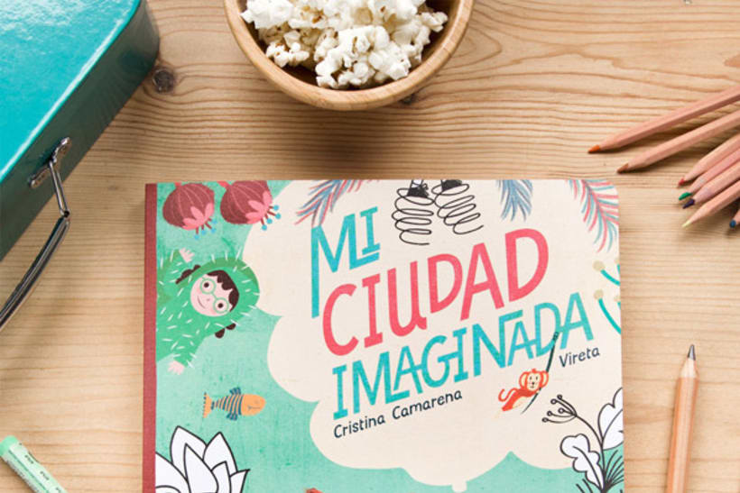 Mi ciudad imaginada, cuento y libro de creatividad libre para niños 6