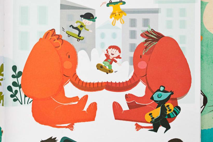 Mi ciudad imaginada, cuento y libro de creatividad libre para niños 7
