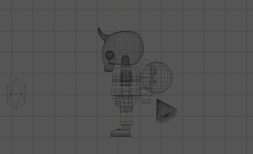 Mi Proyecto del curso: Diseño de personajes en Cinema 4D: del boceto a la impresión 3D. 8
