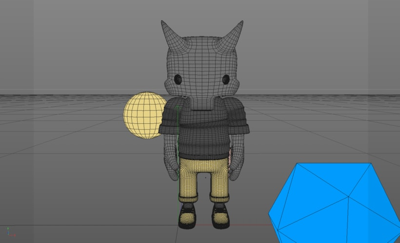Mi Proyecto del curso: Diseño de personajes en Cinema 4D: del boceto a la impresión 3D. 9