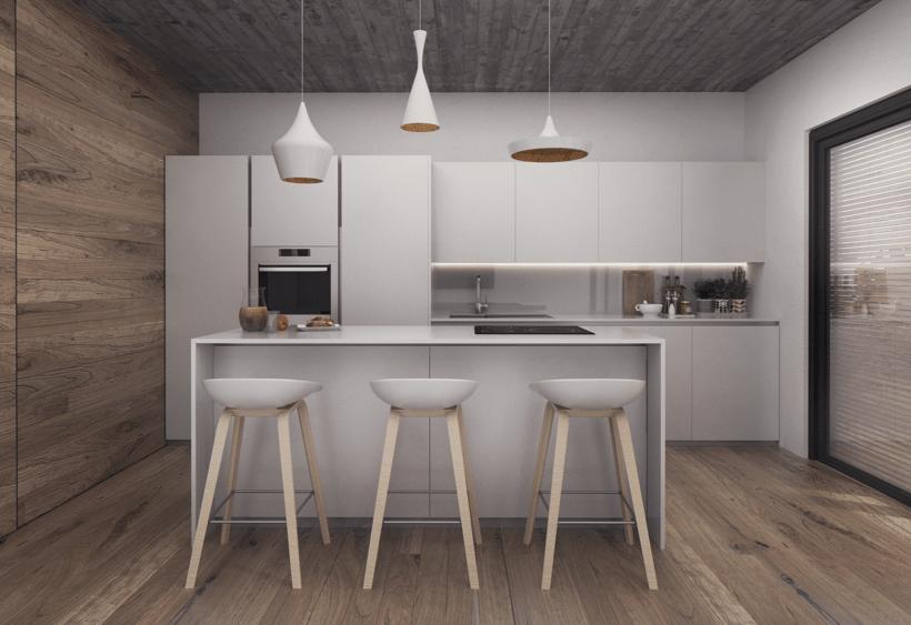 Infografías Fachada-Terraza-Salón-Cocina 2