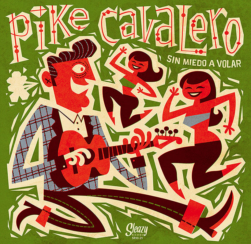 Pike Cavalero - LP cover 2