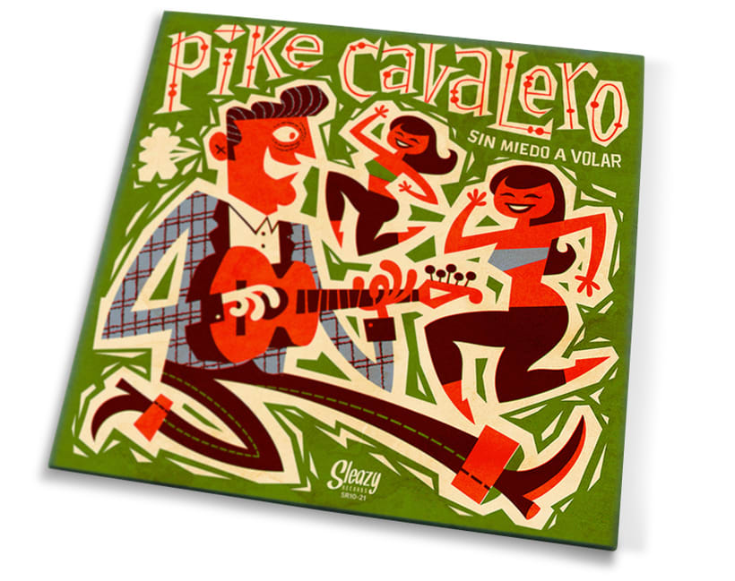 Pike Cavalero - LP cover 4