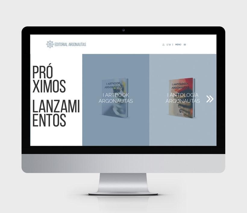 Comunicación online y RRSS para Editorial Argonautas 3