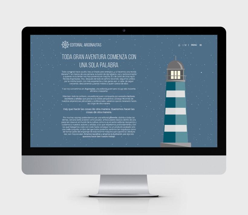 Comunicación online y RRSS para Editorial Argonautas 1