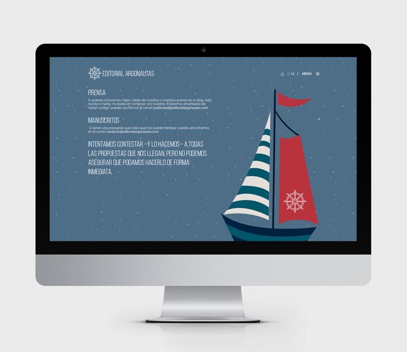 Comunicación online y RRSS para Editorial Argonautas 2