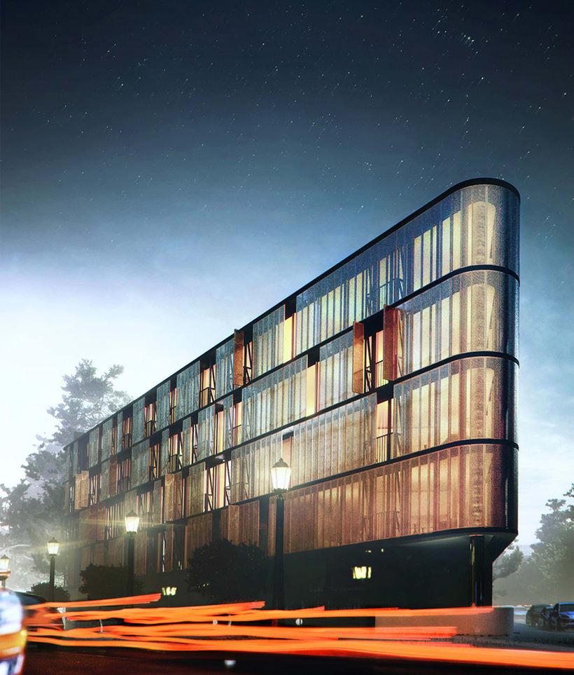 Exterior Building / 3d Arch Viz. -1