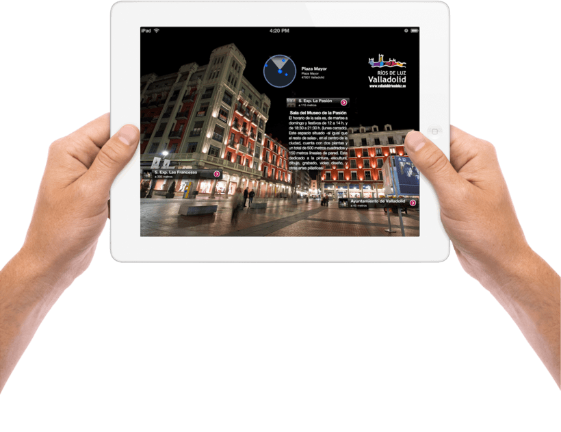 Valladolid Ríos de Luz - Smart Cities App 2
